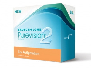 PureVision 2 HD for Astigmatism, 6 szt.