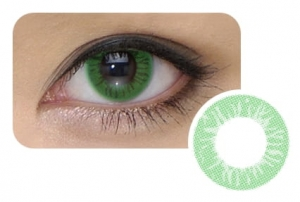 Cool Look 1-tone Emerald Green
